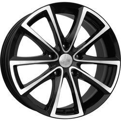 Автомобильный диск литой K&K Сансара 8,5x18 5/120 ET 45 DIA 65,1 Алмаз черный