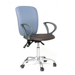 Кресло офисное CHAIRMAN CH9801 черный, голубой