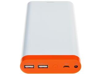 Портативный аккумулятор IconBit FTB20800 белый, оранжевый