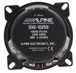 Коаксиальная АС Alpine SXE-1025S