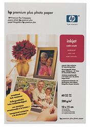 Бумага HP Q2508A 10x15 см Матовая для струйной печати 280 гр., 60 листов
