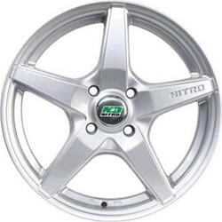 Автомобильный диск Литой Nitro Y3119 6x15 4/100 ET 48 DIA 54,1 Sil