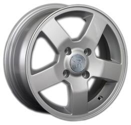 Автомобильный диск литой Replay NS127 6x15 4/114,3 ET 40 DIA 66,1 Sil