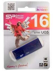 Память USB Flash Silicon Power Ultima U05 16 Гб