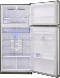 Холодильник с морозильником Sharp SJSC59PVBK черный