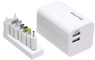 Портативный аккумулятор Qumo PowerAid 6600 белый