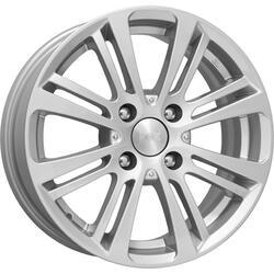Автомобильный диск литой K&K Беринг 6,5x15 4/114,3 ET 40 DIA 66,1 Блэк платинум