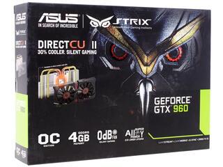 Видеокарта ASUS GeForce GTX 960 STRIX OC [STRIX-GTX960-DC2OC-4GD5]
