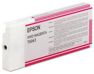 Картридж струйный Epson T6063