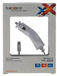 Автомобильное зарядное устройство teXet TPC-1029
