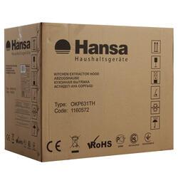 Вытяжка каминная Hansa OKP631TH серебристый