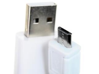 Кабель Solomon micro USB - USB белый, зеленый