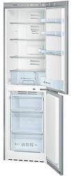 Холодильник с морозильником BOSCH KGN39NL19R серебристый