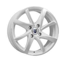 Автомобильный диск литой K&K Игуана 5,5x14 4/108 ET 24 DIA 65,1 Алмаз вайт