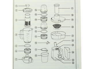 Соковыжималка Philips HR 1846 белый