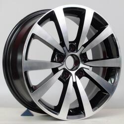 Автомобильный диск литой Replay VV158 7x16 5/112 ET 45 DIA 57,1 BKF