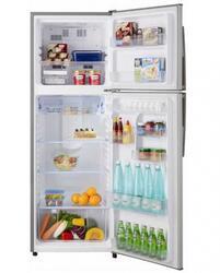 Холодильник с морозильником Sharp SJ391VSL серебристый
