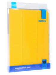 """Чехол-книжка для планшета универсальный 10.1""""  желтый"""