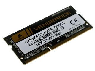 Оперативная память SODIMM Corsair Vengeance [CMSX4GX3M1A1600C9] 4 ГБ