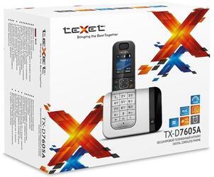 Телефон беспроводной (DECT) teXet TX-D7605А