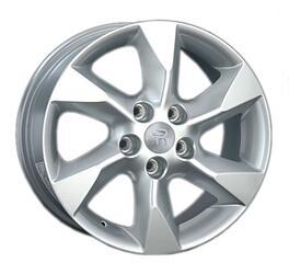 Автомобильный диск литой Replay NS101 7x17 5/114,3 ET 45 DIA 66,1 Sil