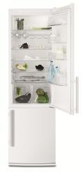 Холодильник с морозильником Electrolux EN4001AOW белый