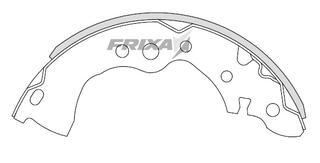 Тормозные колодки Hankook Frixa FLS01