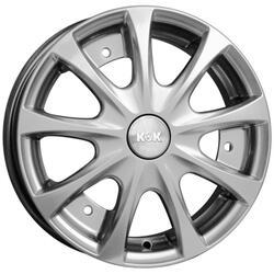 Автомобильный диск Литой K&K Таврия 4,5x13 3/256 ET 30 DIA 108,5 Сильвер