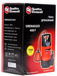 ERGUS Drenaggio 400F