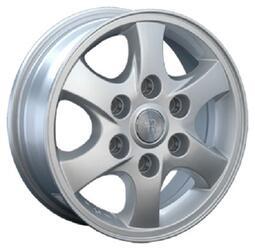 Автомобильный диск литой Replay TY91 6x15 6/114,3 ET 44 DIA 56,6 Sil
