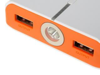 Портативный аккумулятор IconBit FTB10400 белый, оранжевый