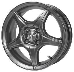 Автомобильный диск Литой Скад Фортуна 5,5x14 4/114,3 ET 43 DIA 66,6 Селена