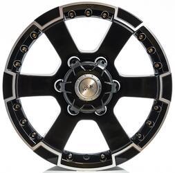 Автомобильный диск литой K&K М56 7x16 6/139,7 ET 30 DIA 93,1 Алмаз черный