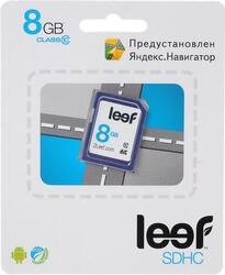 Карта памяти Leef Yandex SDHC 8 Гб