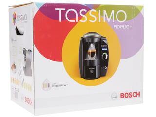 Кофемашина Bosch TAS 6515EE Tassimo серебристый