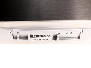 Вытяжка подвесная Hotpoint-Ariston 7HSL 6 CM IX RU/HA серебристый