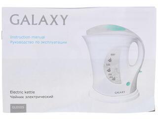 Электрочайник Galaxy GL 0105 белый