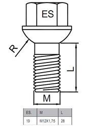 Болты-секретки HEYNER J2 суперсталь 42564