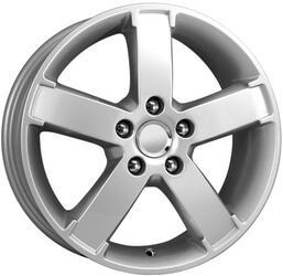 Автомобильный диск Литой K&K КС417 6,5x16 5/108 ET 52,5 DIA 63,35 Алмаз сильвер