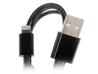 Кабель InterStep USB - Lightning 8-pin черный
