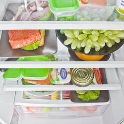 Холодильник с морозильником LG GA-B409SAQA серебристый