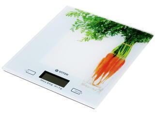 Кухонные весы Vitek VT-2418 белый