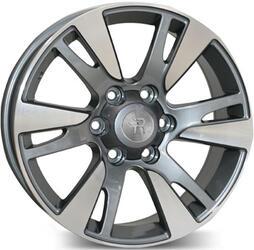 Автомобильный диск литой Replay TY76 7,5x18 6/139,7 ET 25 DIA 106,1 BKF