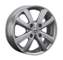 Автомобильный диск Литой Replay NS47 5,5x15 4/114,3 ET 40 DIA 66,1 Sil