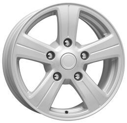 Автомобильный диск Литой K&K Барс 7x16 5/139,7 ET 40 DIA 98 Сильвер