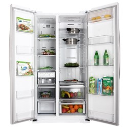 Холодильник LG GC-B207GVQV белый
