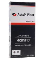 Фильтр воздушный AutoM AAK-201