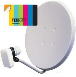 Комплект спутникового ТВ Телекарта Восток