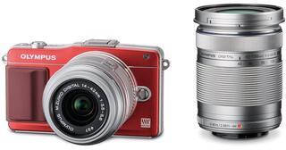 Камера со сменной оптикой Olympus E-PM2 DZ kit 14-42 mm/40-150 mm