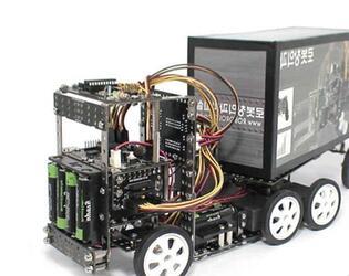 Электронный конструктор Roborobo Robokit4